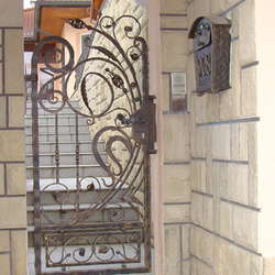 A wrought iron gate with the Renaissance touch